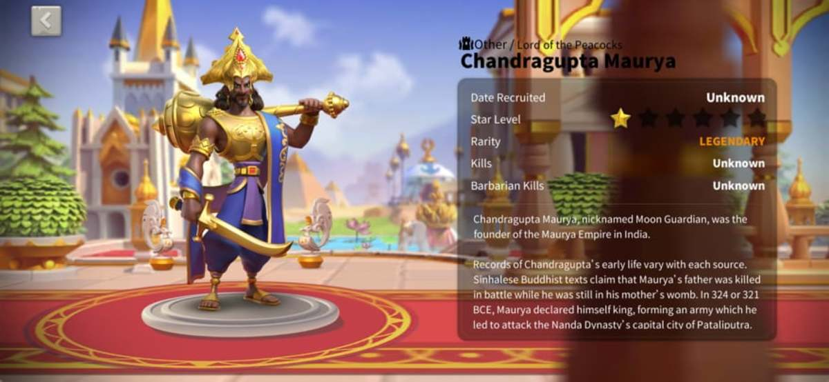 Ultimate Chandragupta Maurya Talent Tree Build Guide in