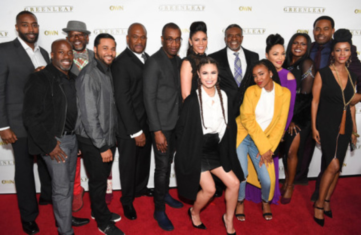 The cast members of Greenleaf
