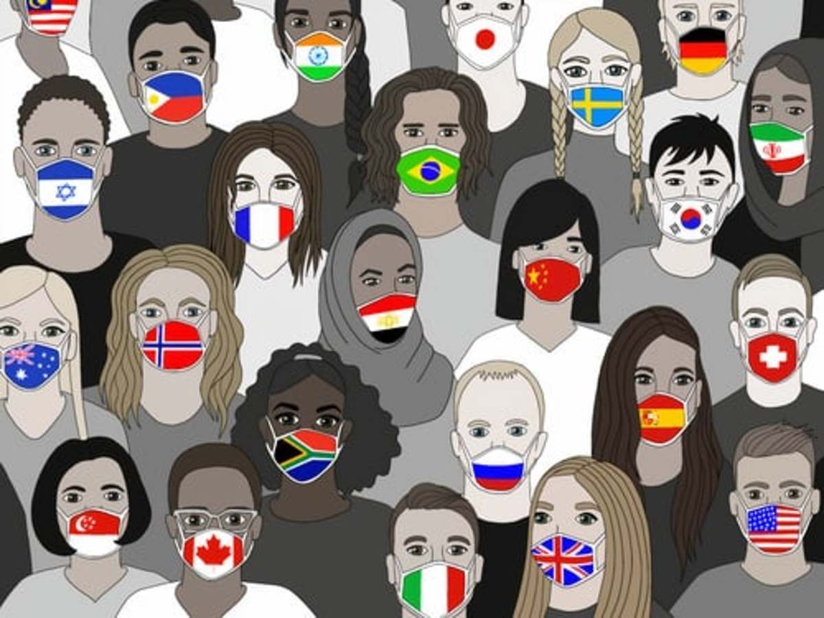 More than 50 countries require people to cover their faces when they leave home.