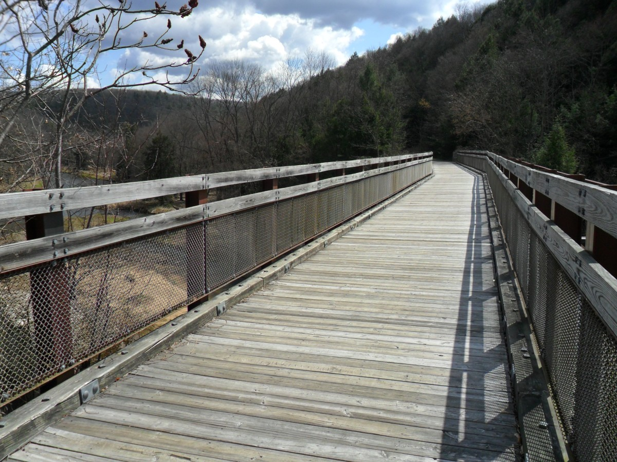 Sandy Creek Trail Trestle