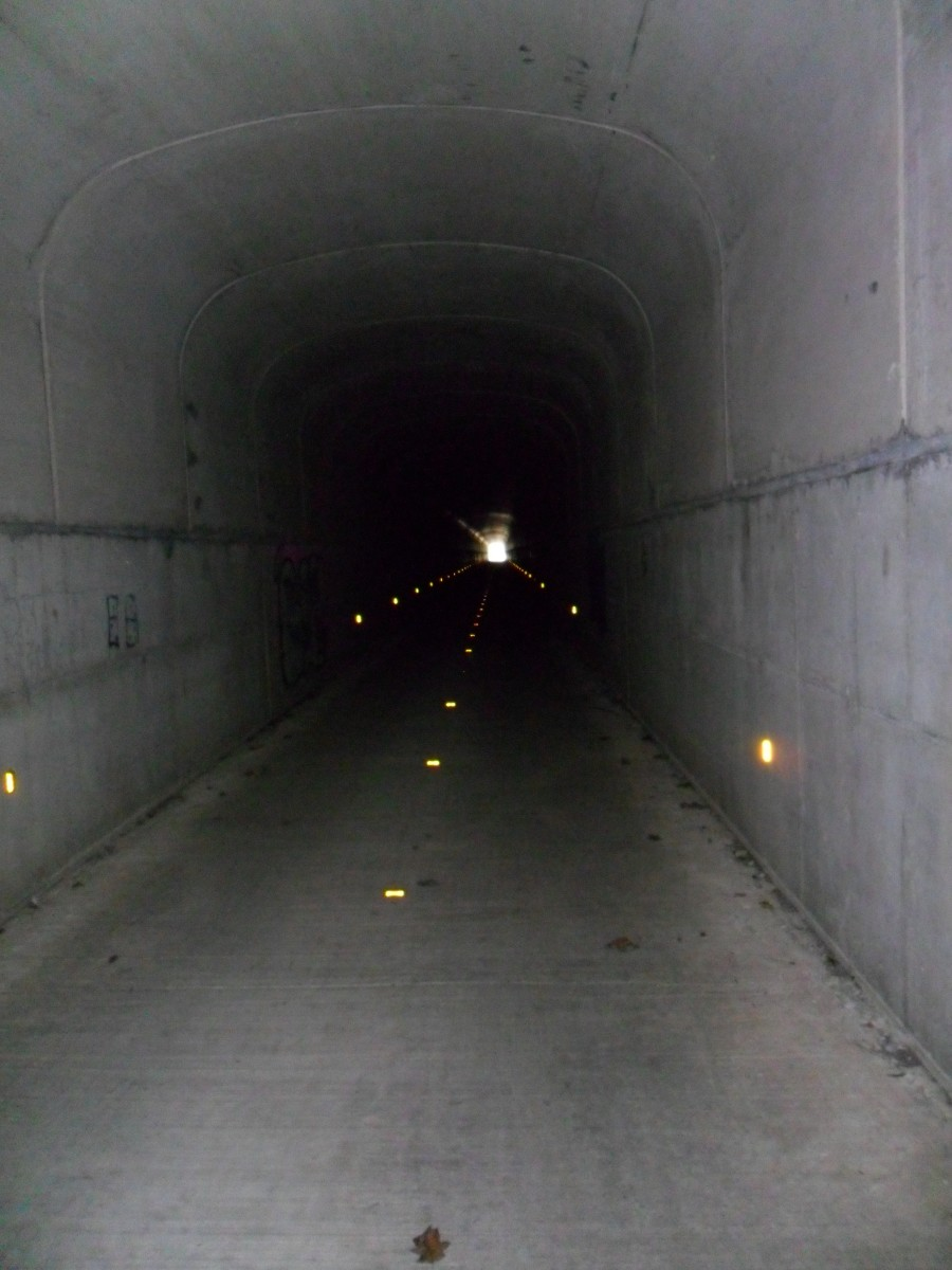 Inside the Sandy Crek Tunnel