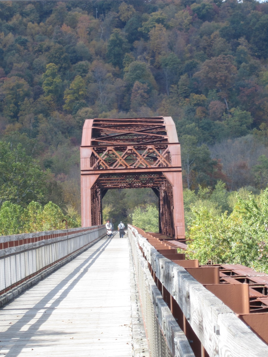 All Terrain Bike >> Pedaling Across the Allegheny River on the Sandy Creek ...