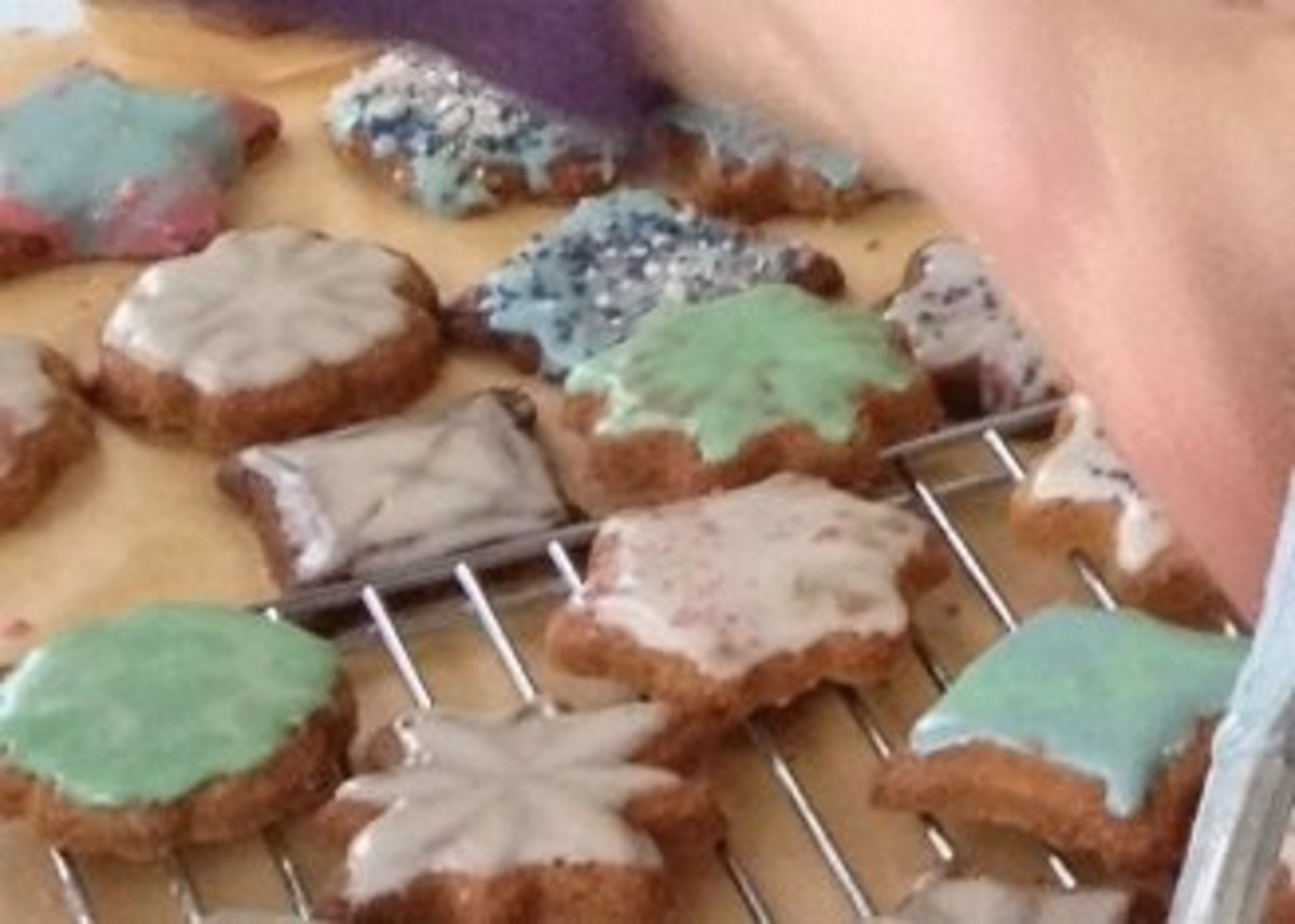 Let the kids join in the frosting--fun is the goal, not perfection!