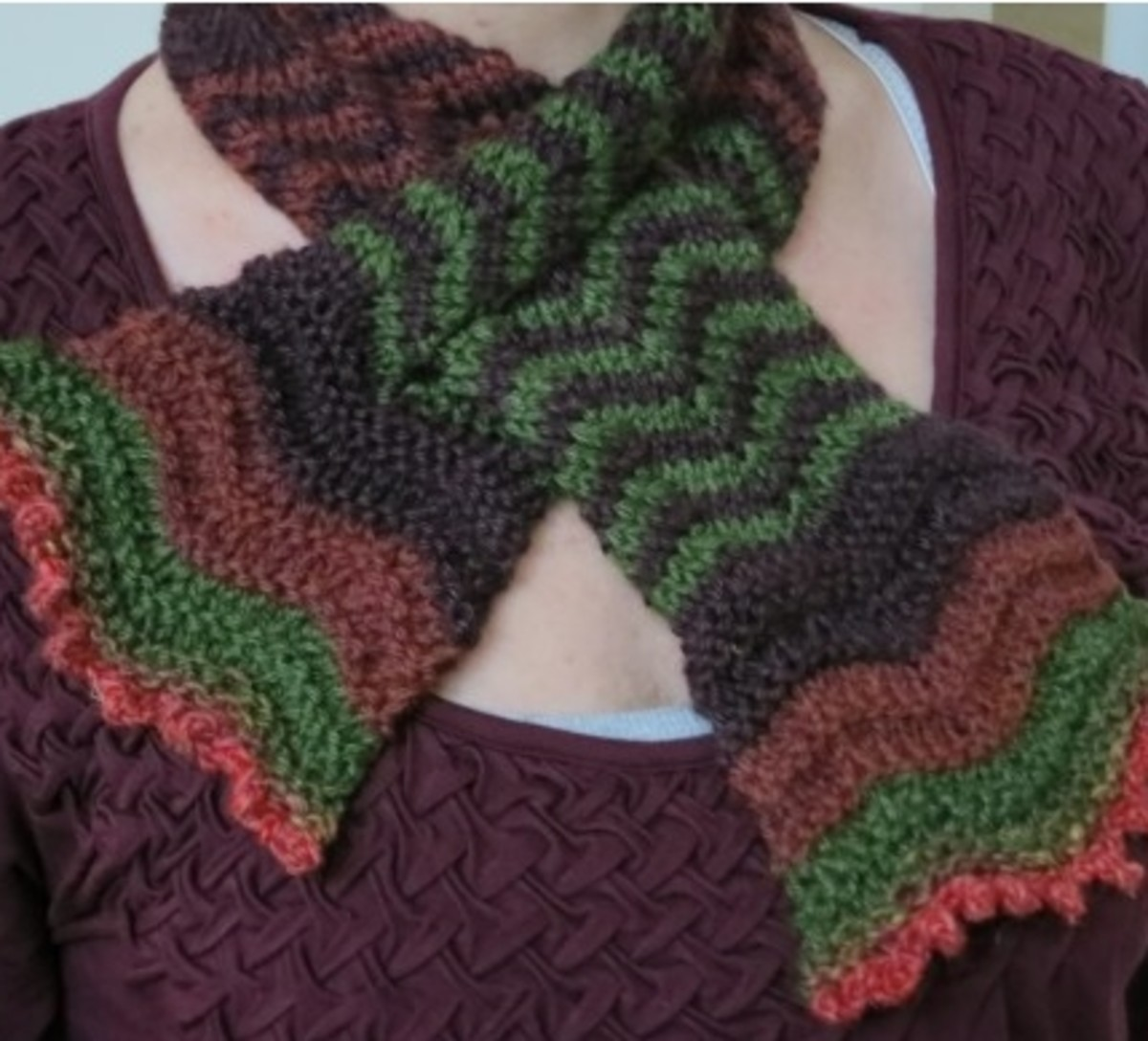 Blooming Colors Scarf