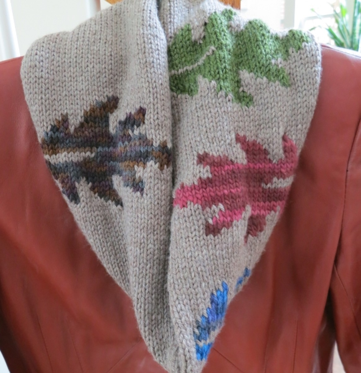 Changing Leaves Cowl or Scarf