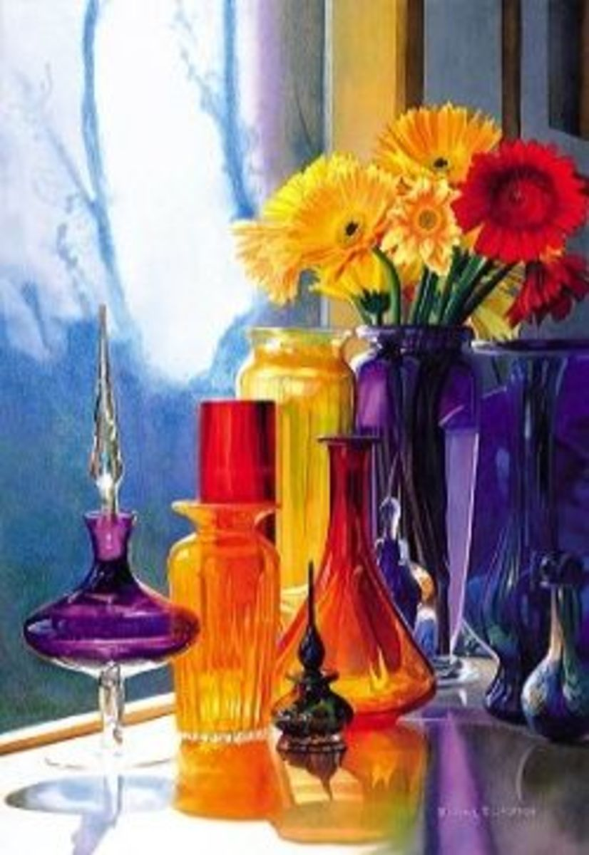 Watercolor Artist Paul Jackson