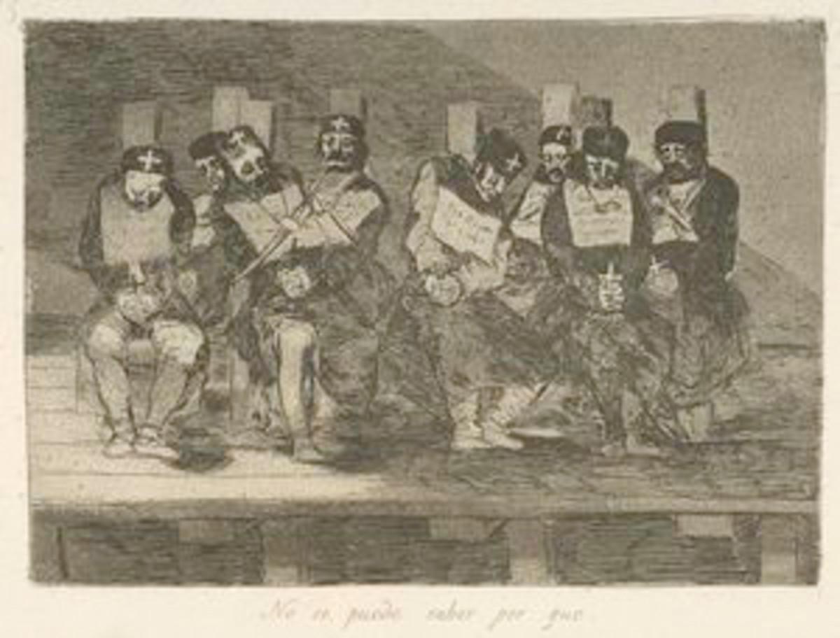 No se puede saber por que. ([1810-1820]) Goya, Francisco