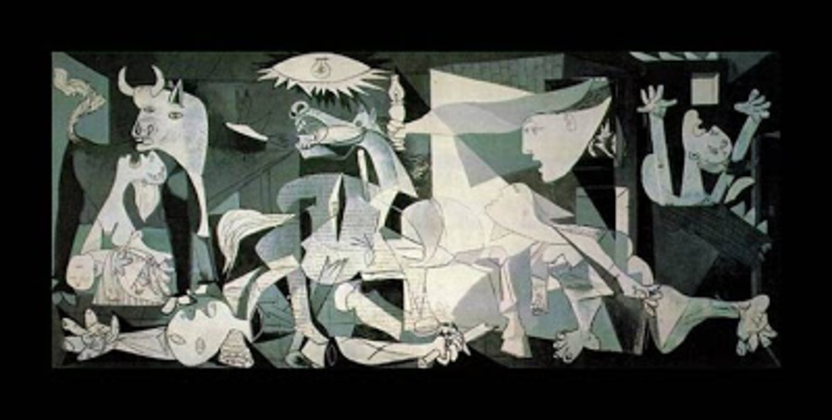 Picasso's 1937 painting, Guernica