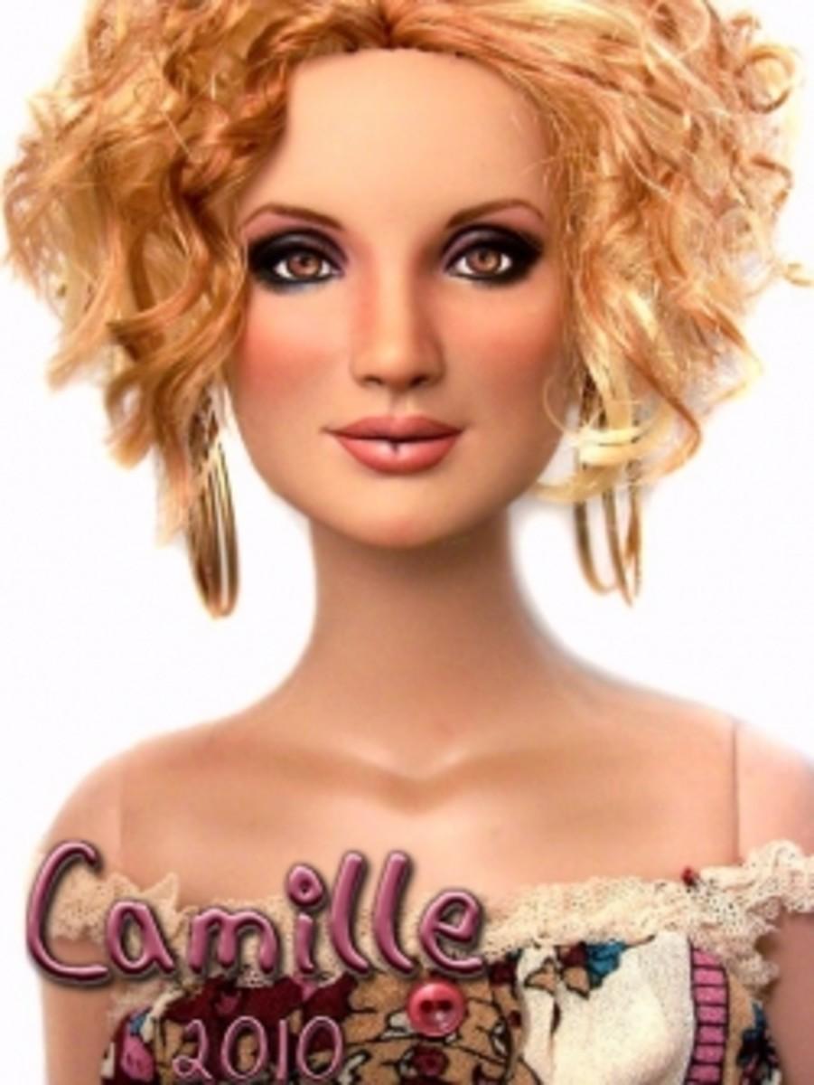 VikisFinds - Kedra Barrett - OOAK Doll - Camille 2010