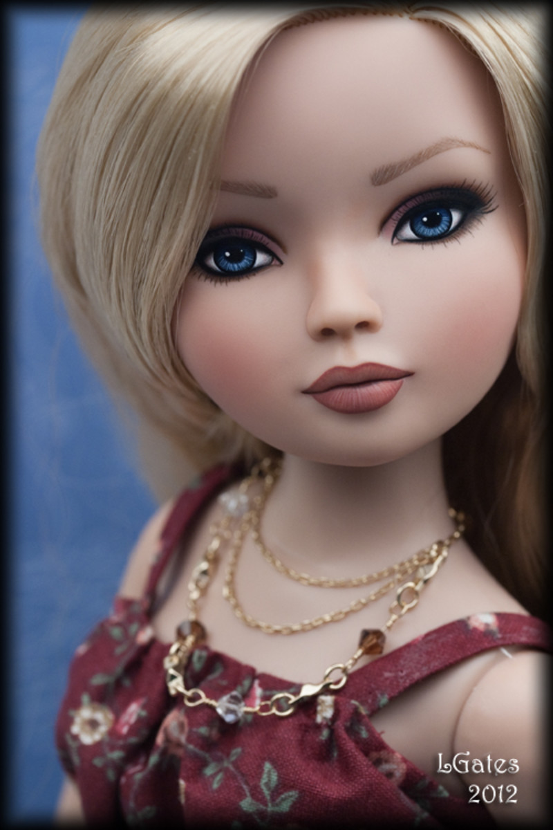 ~Bailey~ OOAK Ellowyne Repaint by Lisa Gates