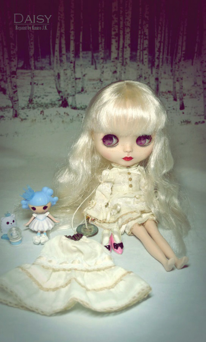 KMIRO Creations - Blythe:  KMIRO is also a Hollywood Doll artist.