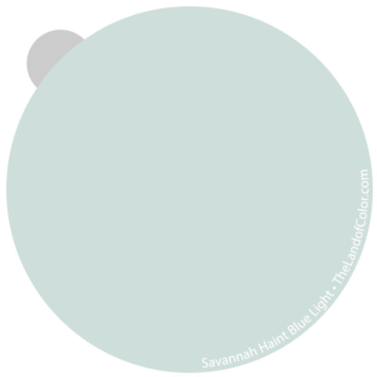 Savannah Haint Blue - Light Strong edge of greenes