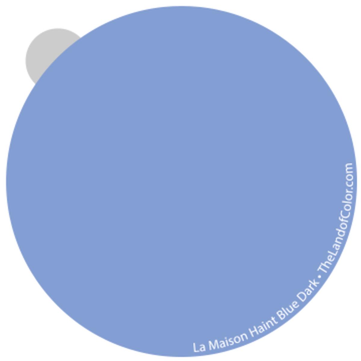 Haint Blue La Maison - Dark