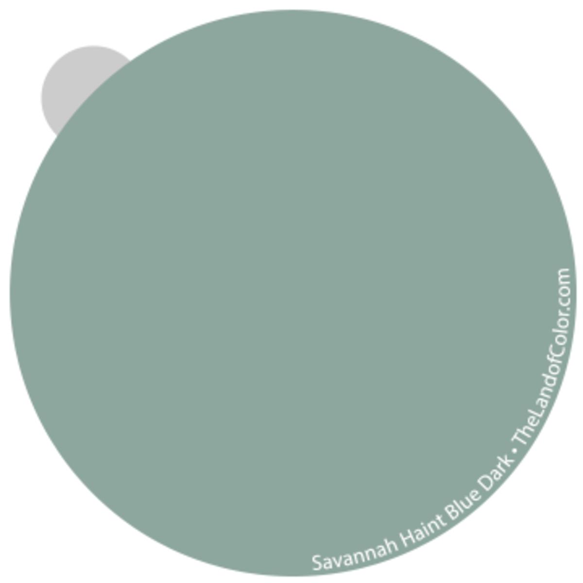 Savannah Haint Blue - Dark Strong edge of greeness