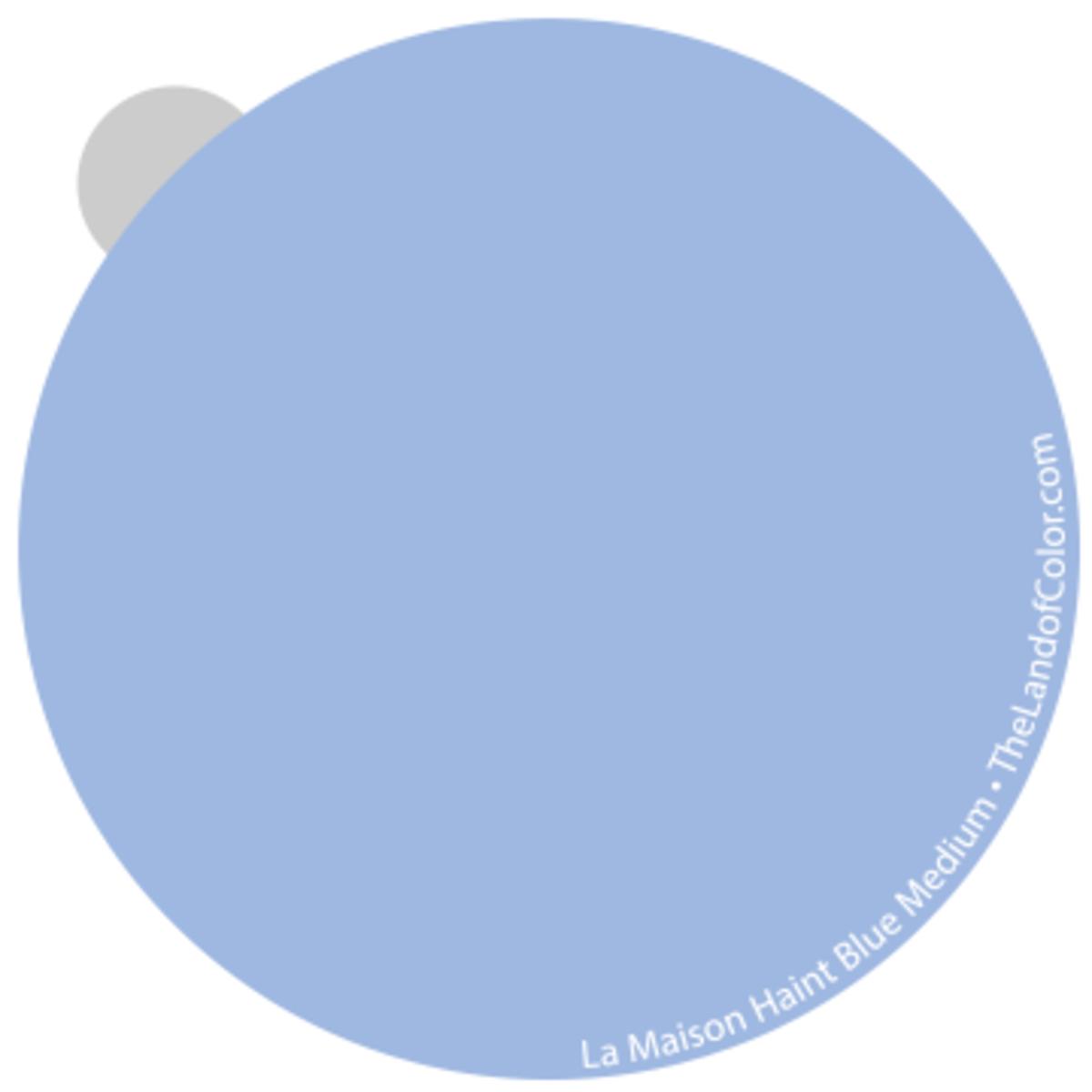 Haint Blue  La Maison - Medium
