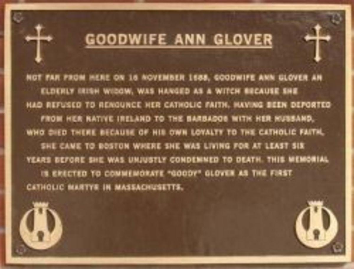 Goodwife Ann Glover