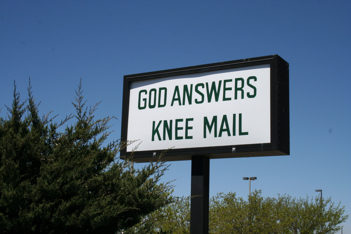 Churches know how to stretch a pun.