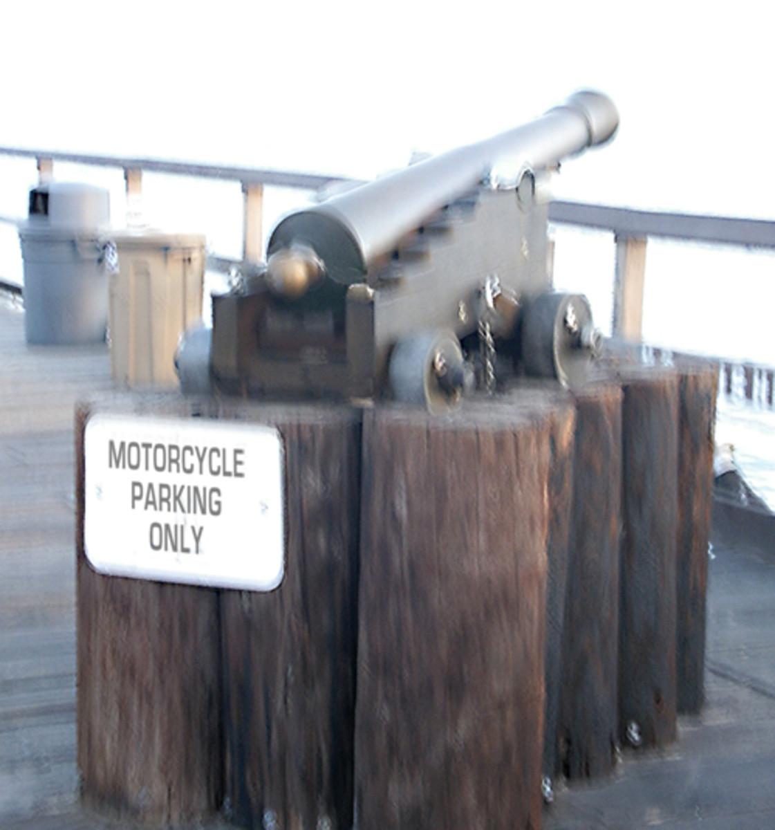 On the Santa Barbara pier in California.