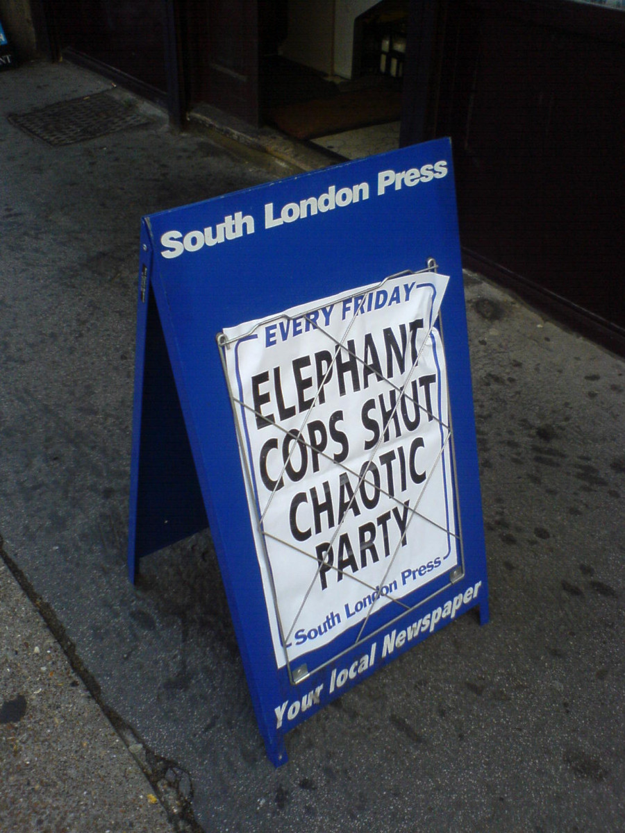 London is patrolled by elephant cops. Who knew?