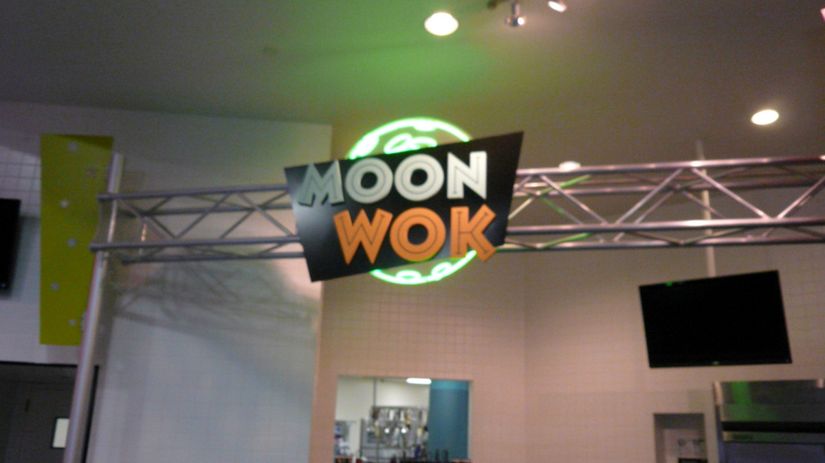 One of several space-themed restaurants in Johnson Space Center, Houston.