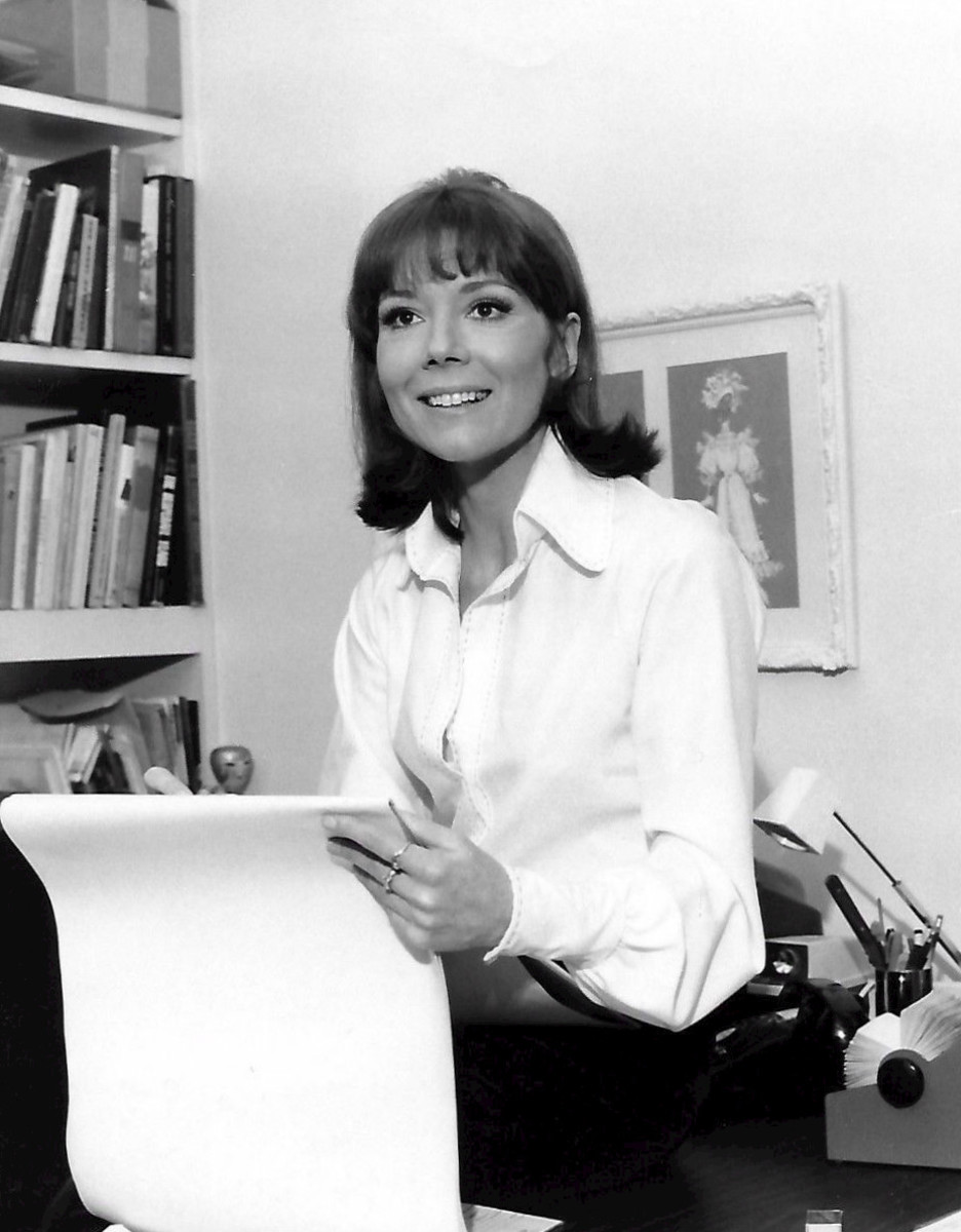 All About Dame Diana Rigg