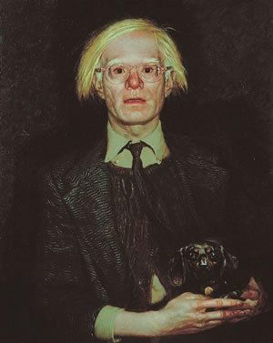 Warhol by Jamie Wyeth
