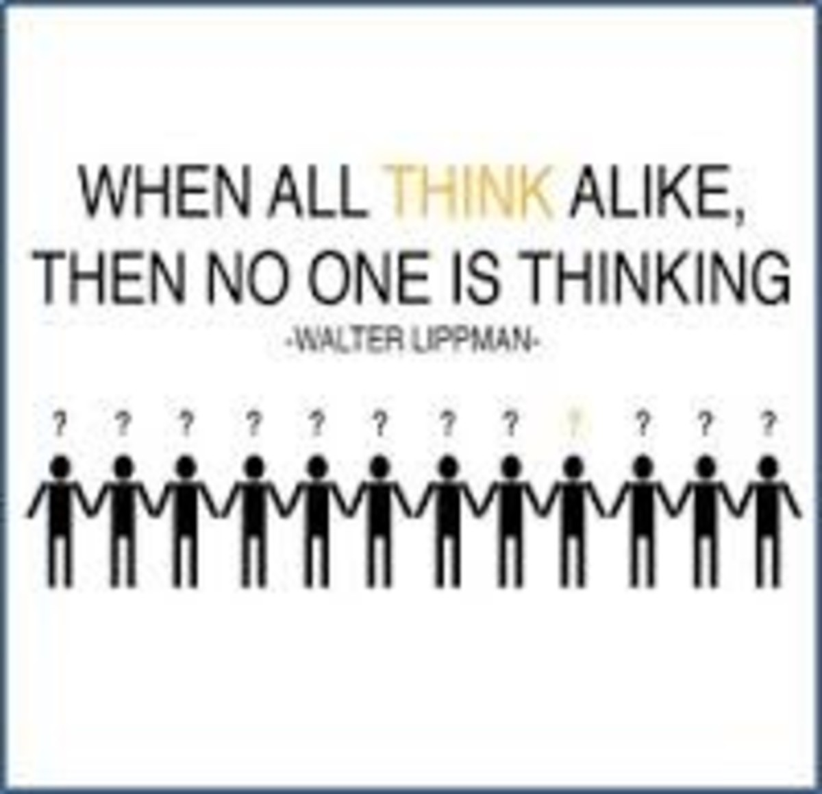 Groupthink and Intellectual Laziness