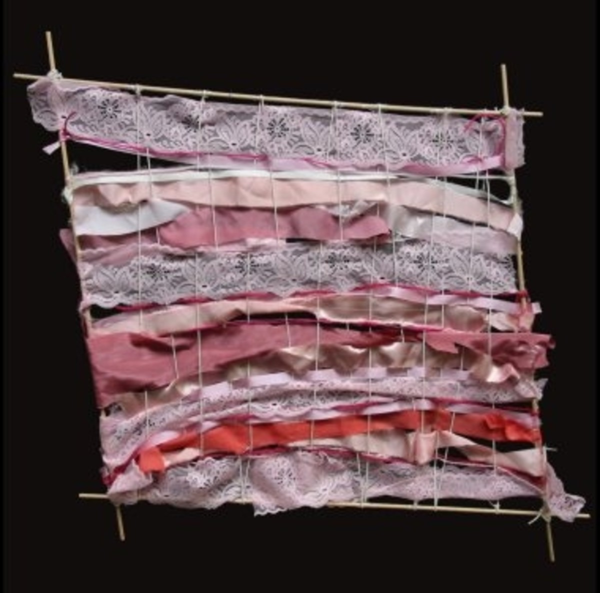 Piecing Together a New Life (Weaving)