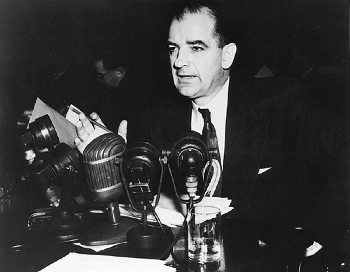 Joseph McCarthy, 1950s