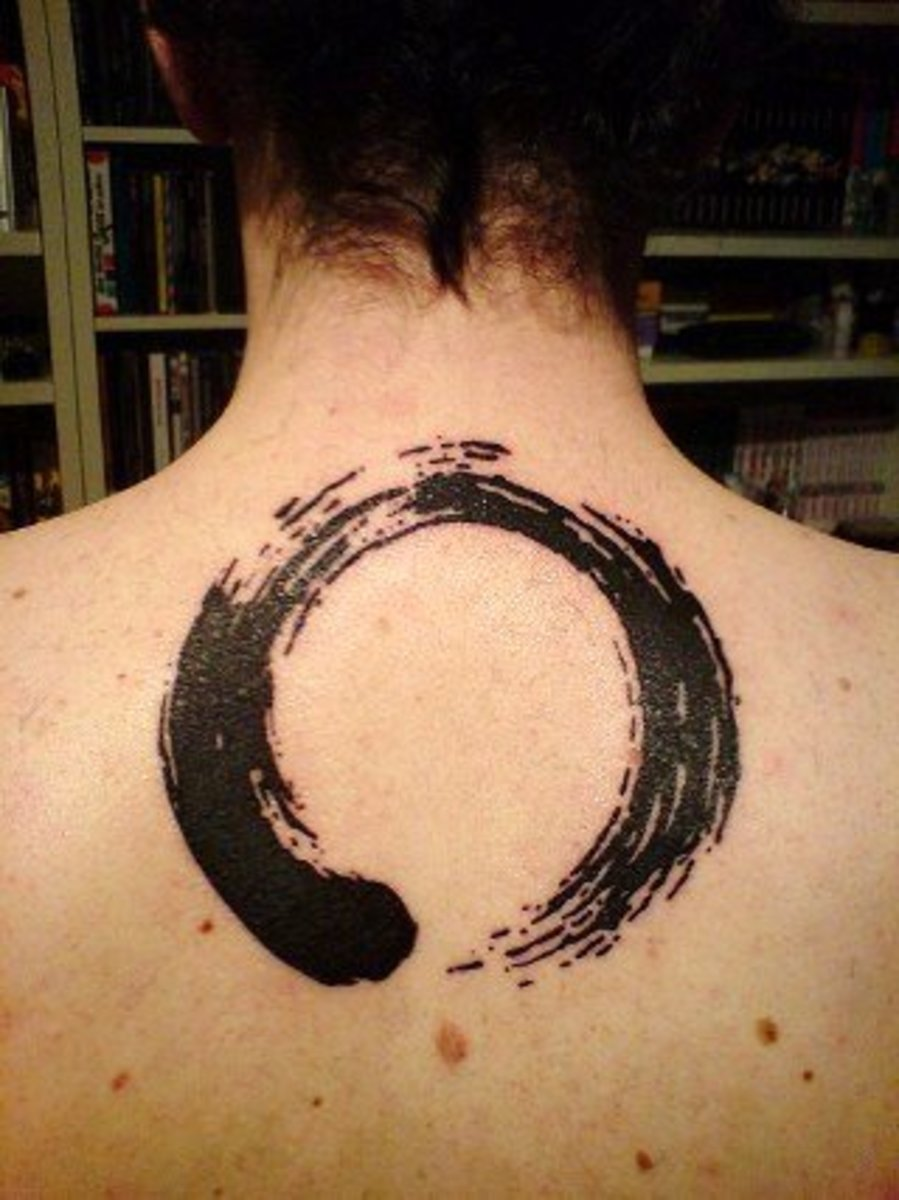 Circle Tattoos: Wheel, Round Designs, Circular Tattoo Ideas