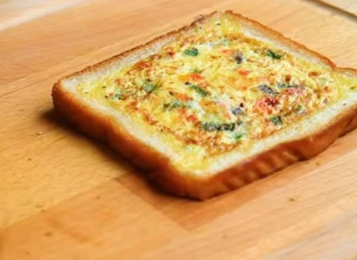 Cooked Toast