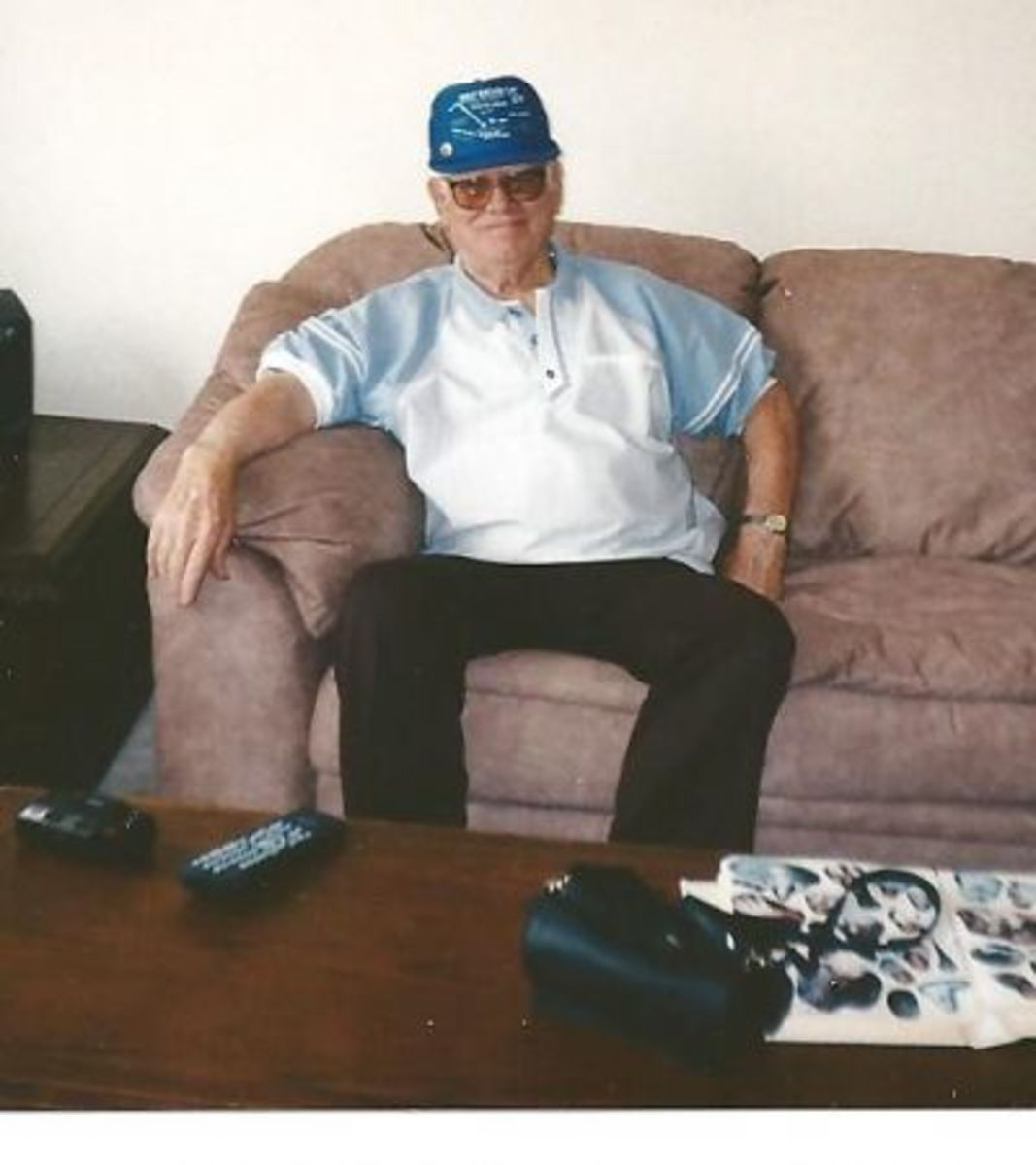 My Dad August of 1998