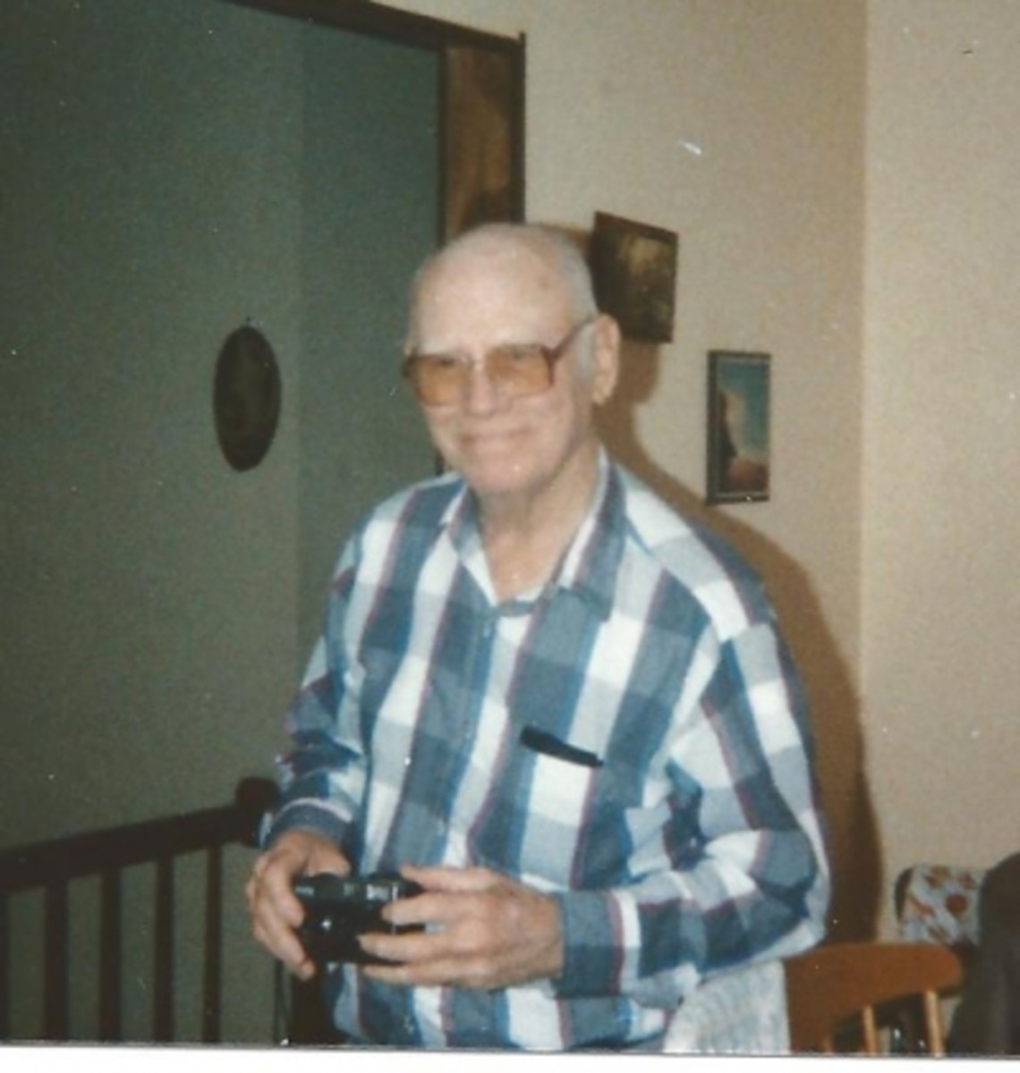 Another photo of my father in 1991