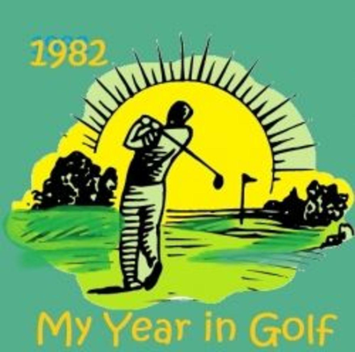 1982 My year in golf