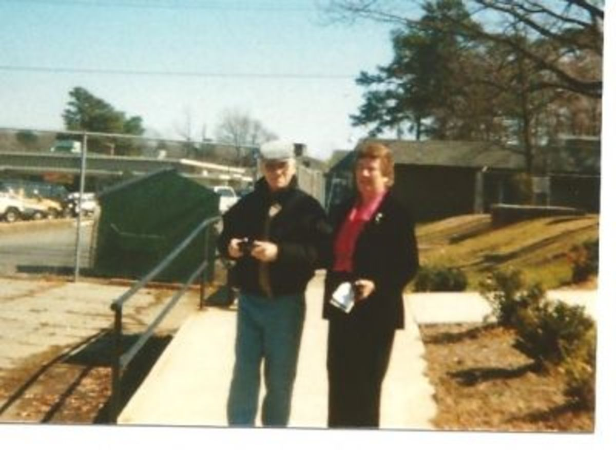 My Mother and Father in 1991 in Maryland