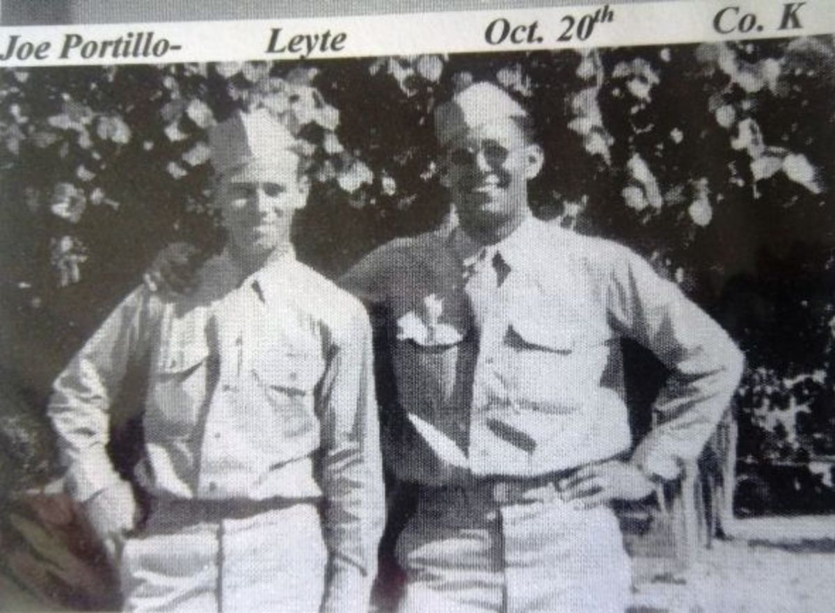 Joe Portillo- Leyte Oct. 20th Co. K