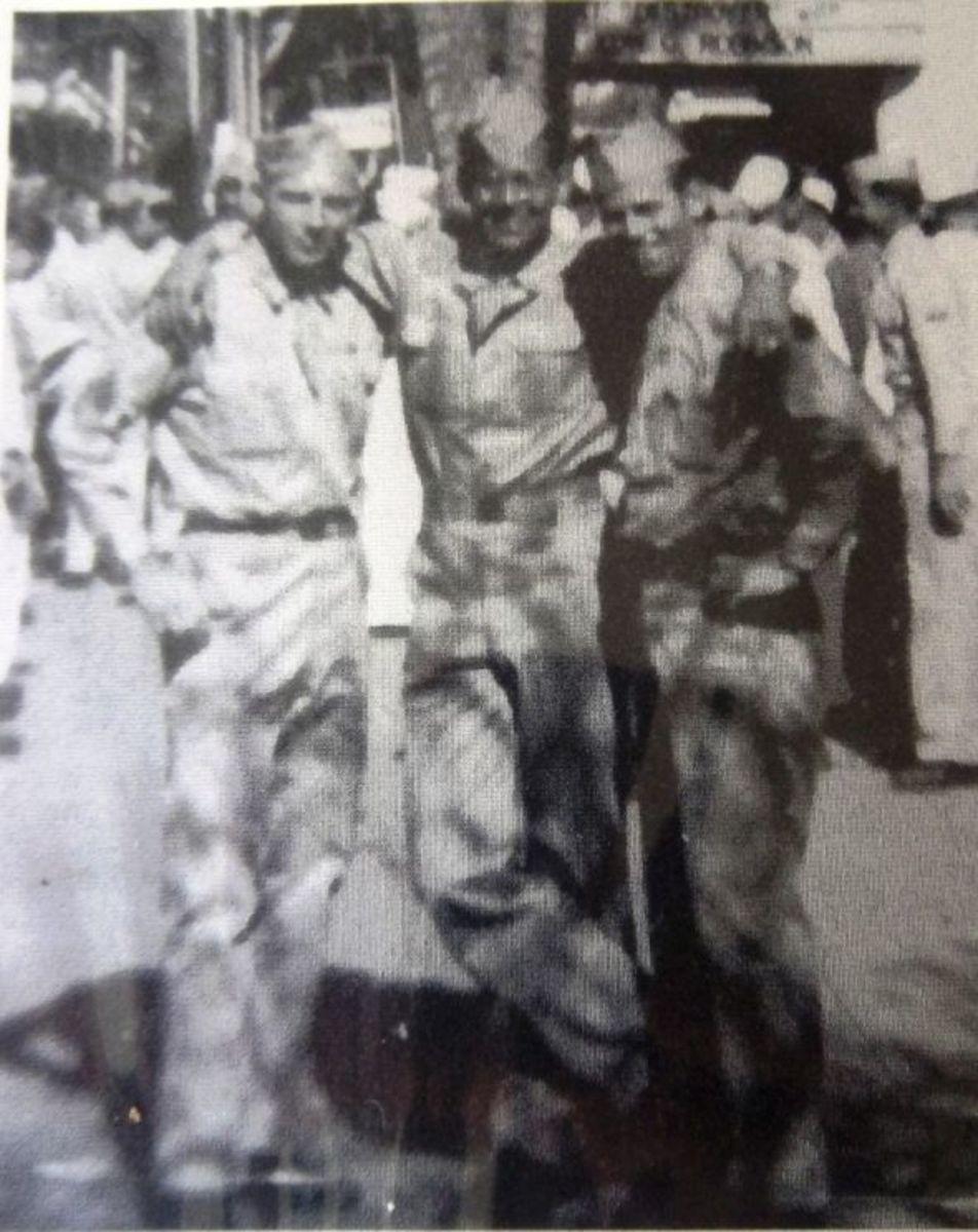 Buddies during the War