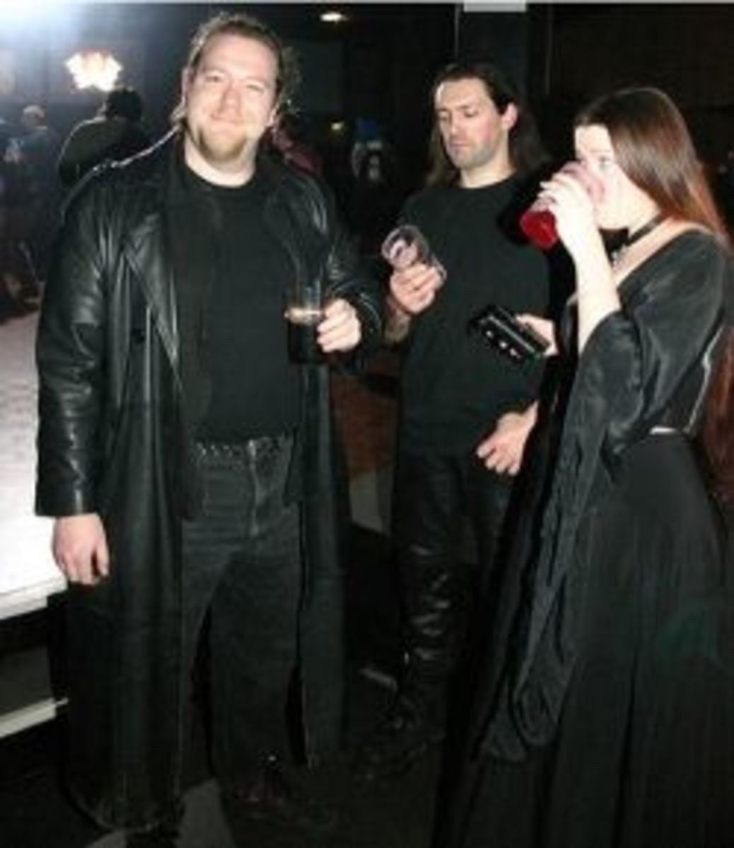 Stereotypical goths?
