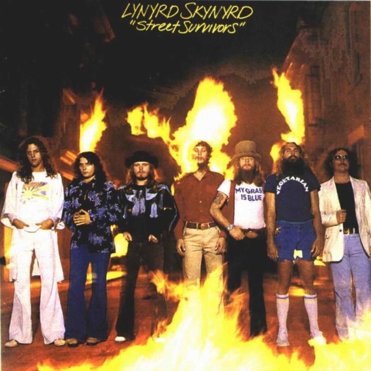 Lynyrd Skynyrd's Street Survivors Album Cover