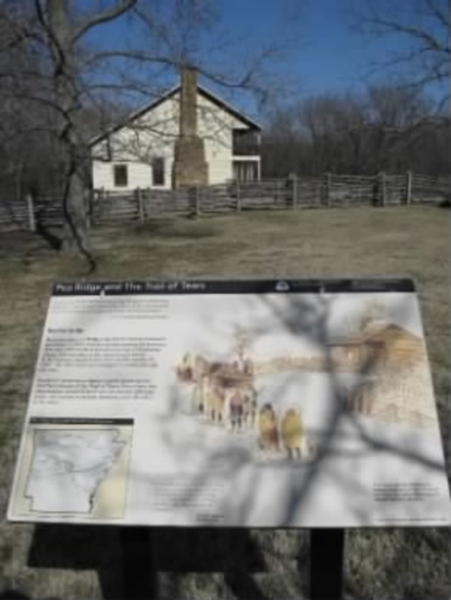 Trail of Tears Elkhorn Tavern Site Pea Ridge, Arkansas