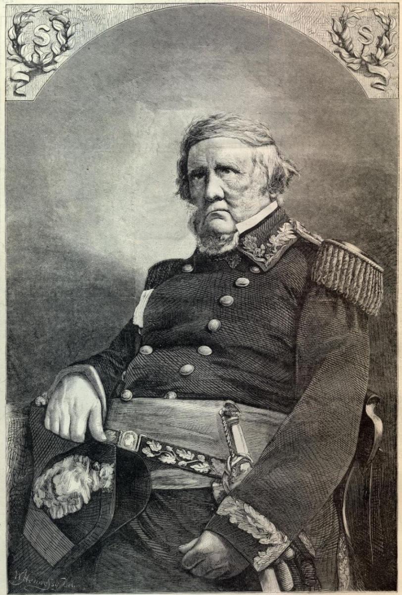 General Winfield Scott age 75