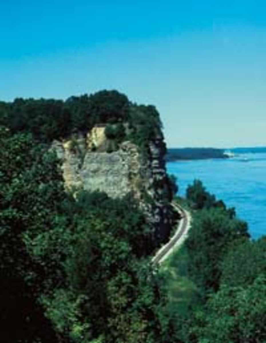 Moccasin Springs is now the Trail of Tears State Park in Cape Girardeau, MO