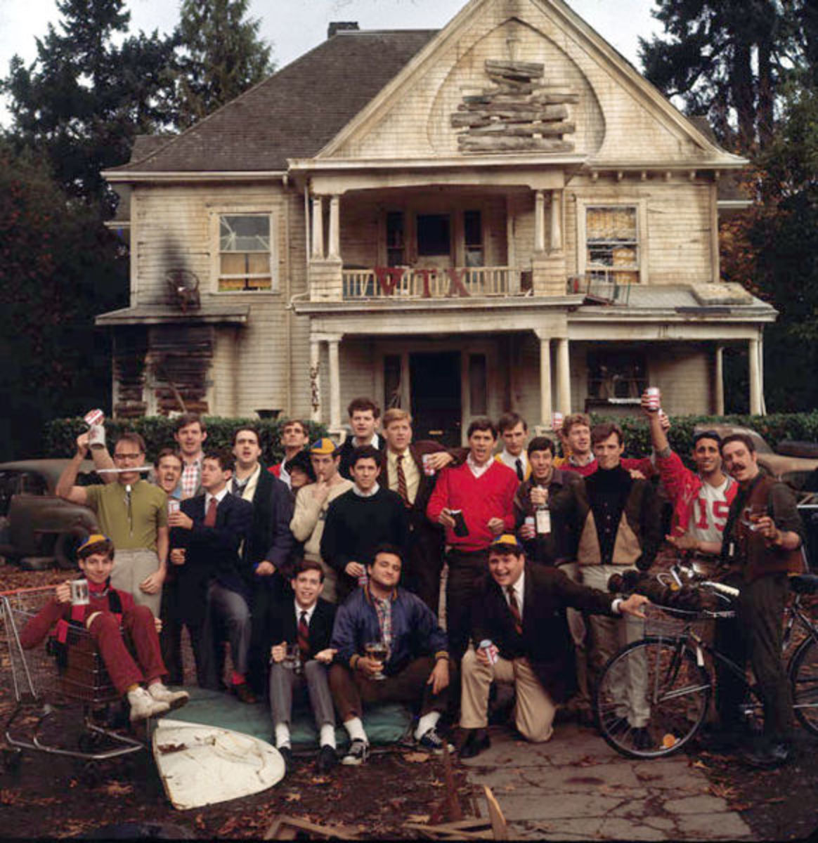 Animal House - shot at the University of Oregon