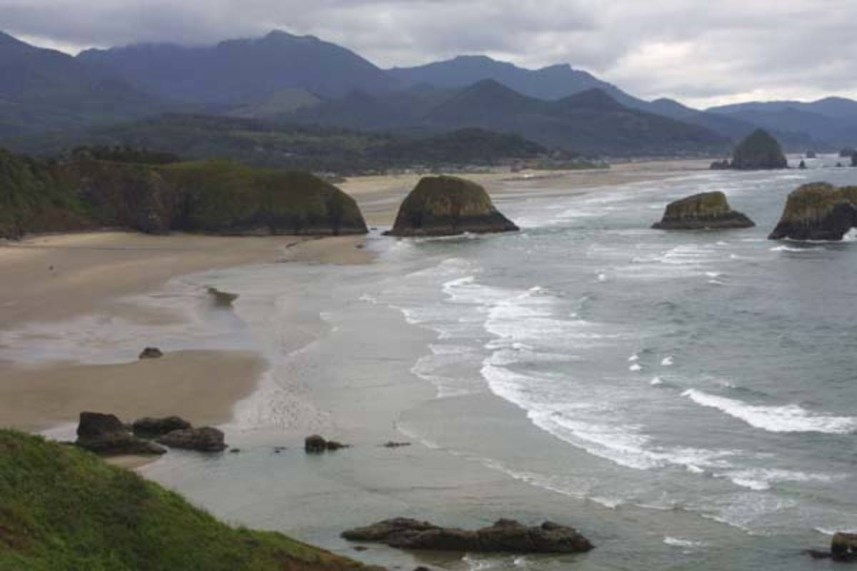 Gorgeous Cannon Beach: Site of Goonies and Kindergarten Cop