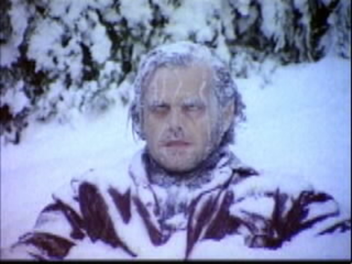 Frozen Jack in the hedge maze