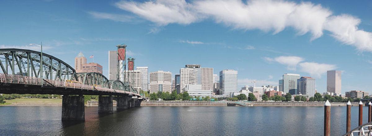 Portland, Oregon Skyline