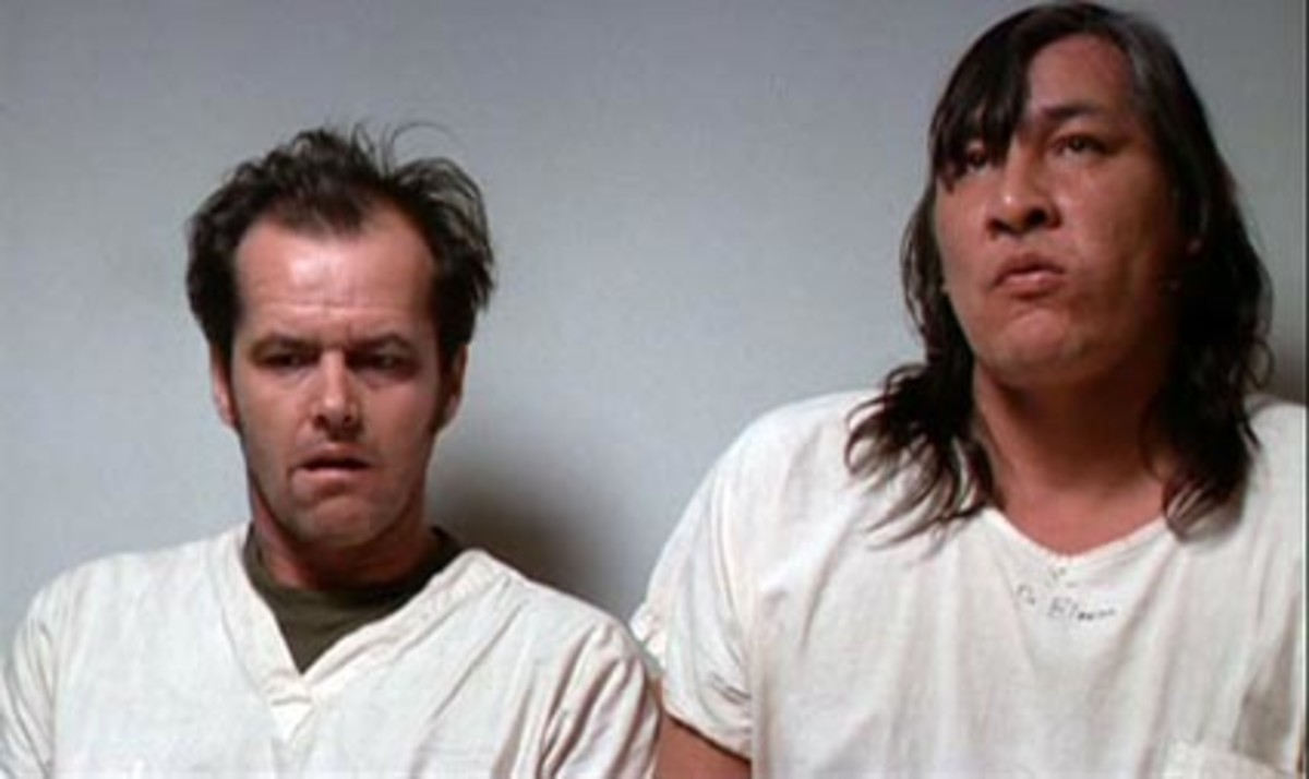 "Jack Nicholson in ""One Flew Over the Cuckoo's Nest,"" in Salem, Oregon"