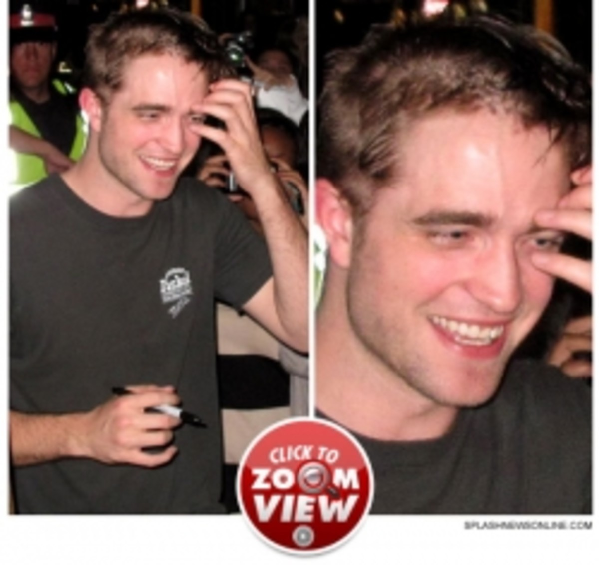 Robert Pattinson's haircut