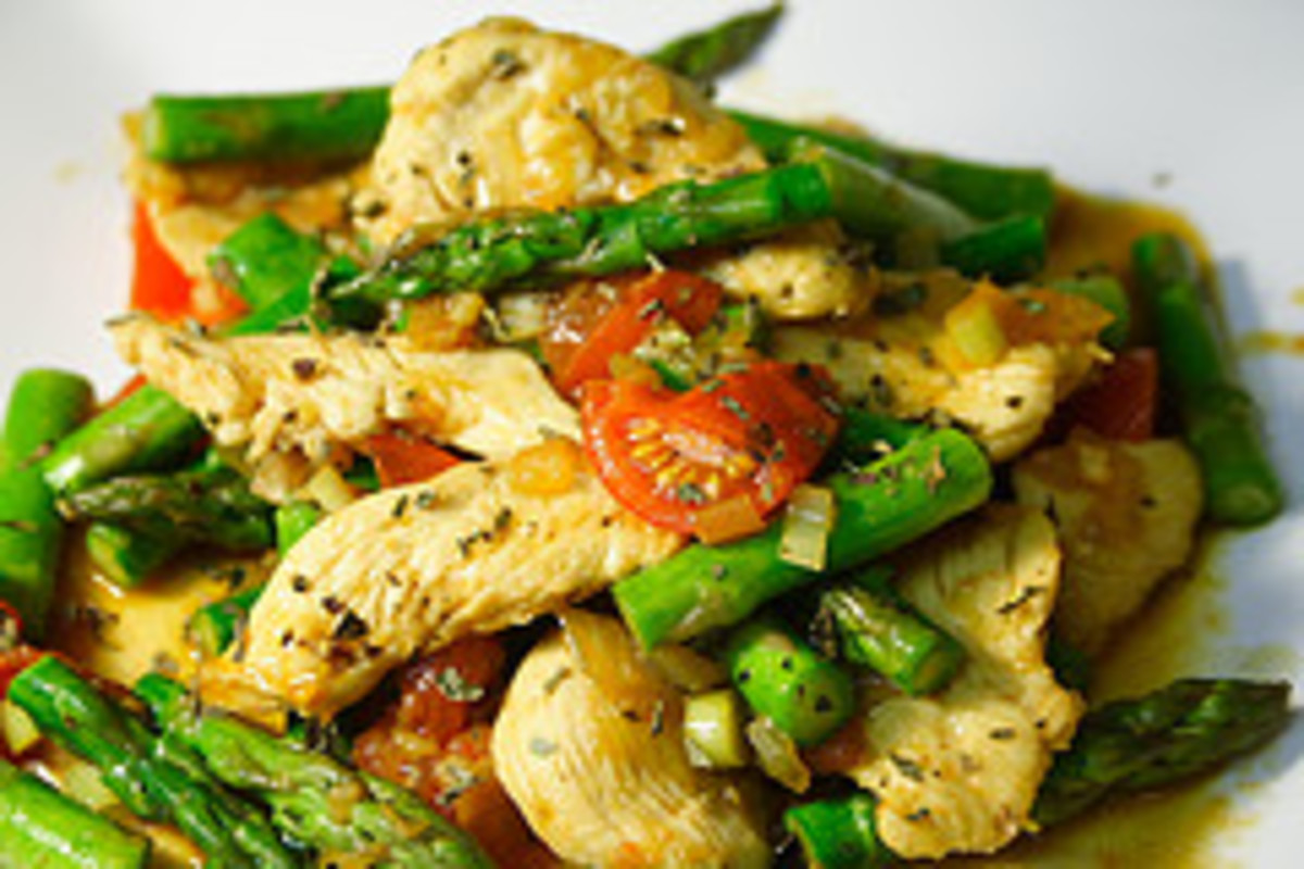 Thai Basal Chicken & Vegetable Stir Fry