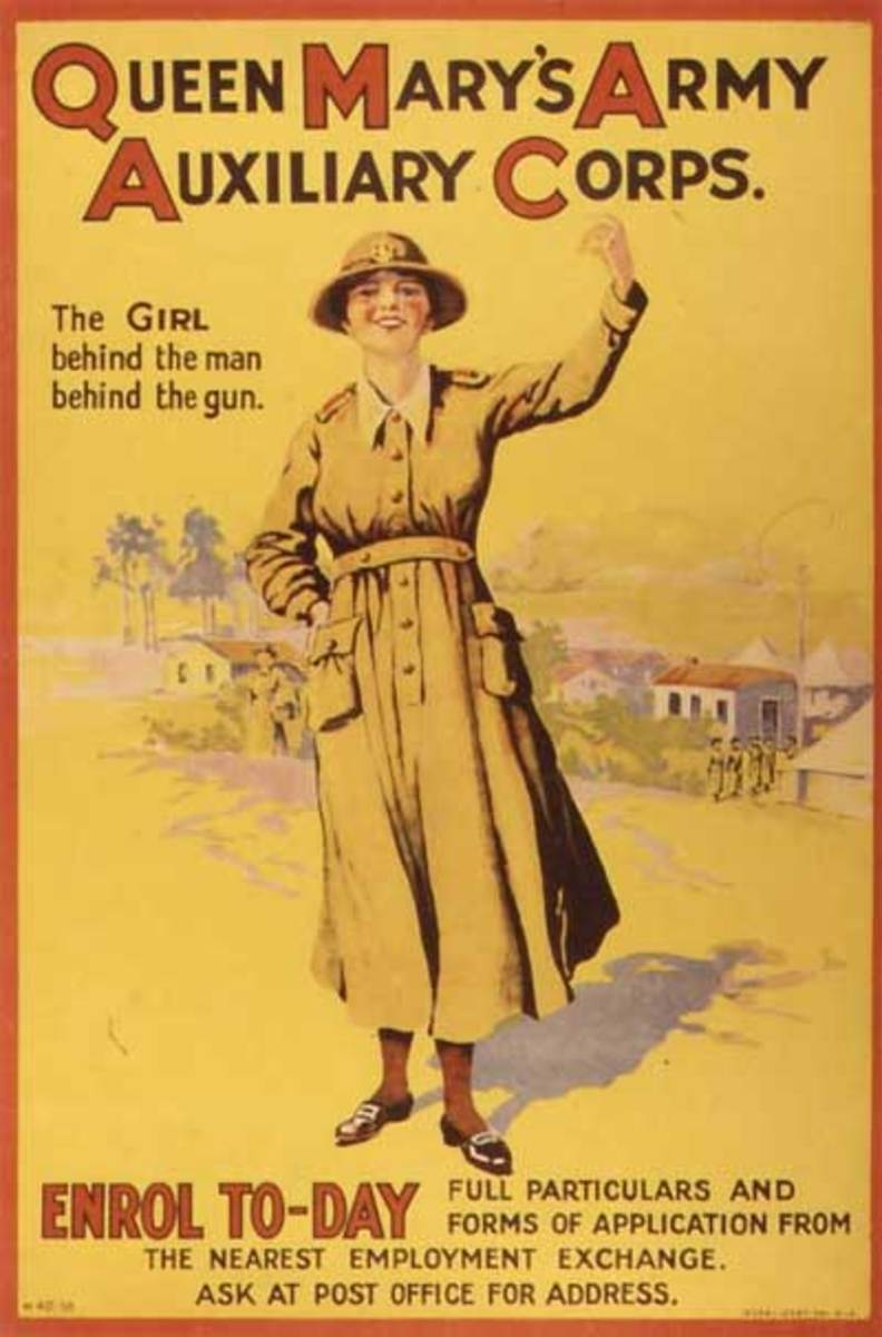 womens role prior to ww1 Before the first world war, women had been a part of many war efforts in various  roles, but, in order to serve alongside men, they had to cloak themselves in.
